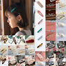 Fashion Girls Crystal Hair Clip Snap Barrette Hairpin Bobby Hair Accessories New