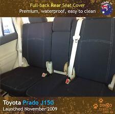 Toyota Prado J150 (Nov 09-now) REAR Premium Neoprene Seat Cover + Armrest Cover