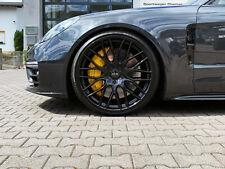 Alufelgen 10x22 Zoll 5x130 ET50 Porsche Panamera Turbo S GTS 970 971 black