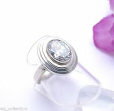 Markenlose Ringe mit Edelsteinen echten Synthetisch hergestellte 58 (18,4 mm Ø)