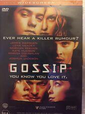 GOSSIP - MARSDEN, JAMES - DVD - Deluxe Widescreen Presentation - Free Post!!
