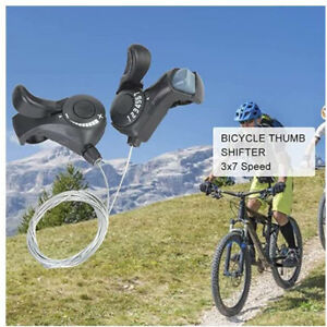 New MTB Road Bicycle Bike 3x8 Speed Shifter Shift Brake Lever Levers Set SL-M31