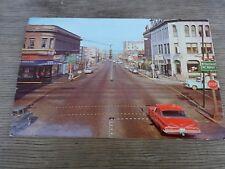 Postcard Street Scene Bellingham, Washington Star Drugs Royal Inn National Bank