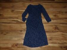womans maternity Liz Lange Maternity dress size S Small blue crunched sides