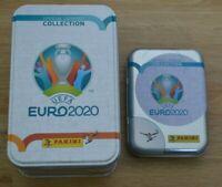 Panini Adrenalyn XL Uefa Euro EM 2020 Classic Mega Tin leer + Mini Tin Box leer