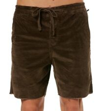 BNWT The Critical Slide Society Mr Lazy Cord Walk Short 34 Chocolate TCSS