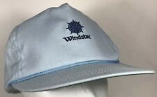Windstar Nautical Sailing Compass Hat Cap Baby Blue Sail Wind Star Vintage