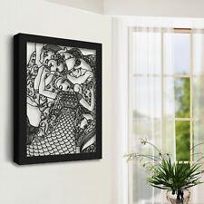 "Gustav Klimt ""Virgins"" Metal Wall Decor, Metal Wall Art Home Decor, Wall Artwork"