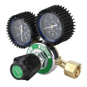 G5/8 Zinc Alloy Nitrogen Pressure Reducer Welding Regulator Gauge YQD-09