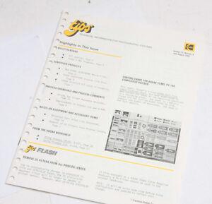 Kodak TIPS Tech Info Photographic Systems Vol 12 No 4 1981 - English - USED B113