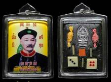 Pendant Yee Gor Hong Er Ger Fong By LP Tha Thai Amulet Luck Lottery Dice Yellow