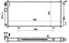 NRF Radiador, refrigeración del motor PEUGEOT 205 54628