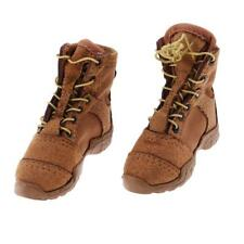 1:6 Scale Men's Combat Shoes/Boots for 12 inch Male Soldier Doll Toys Body