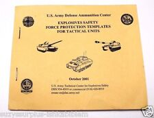 DACS-SF 385-64 Explosives Safety Force Templates for Tactical Units Booklet Z655