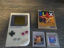 Nintendo Game Boy Classic Konsole + Tetris +  Klax OVP