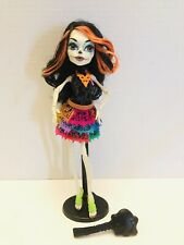 Monster High Skelita Calaveras Doll Scaris City Of Frights - FREE SHIPPING!