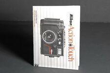 Nikon Action Touch Camera Instruction Book / Manual / User Guide