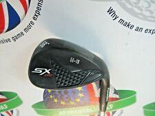 POWERBILT SX 201 BLACK 56.10 DEGREE SAND WEDGE STEEL SHAFT WEDGE FLEX