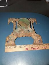 Antique Heavy Cast Iron Green Christmas Tree Stand