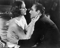 1932 Romance Film GRAND HOTEL Glossy 8x10 Photo GRETA GARBO & JOHN BARRYMORE