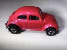 Vintage 1988 Hot Wheels VW Bug Pearl Pink - Volkswagen Beetle Malaysia