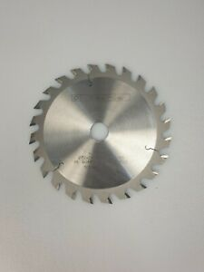 German Circular Saw Blade 152mm X 2,6mm/1,6mm X 20mm Z24