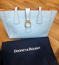 $328 Dooney & Bourke Shannon Tote Women's Leather Shoulder Bag Handbag Blue