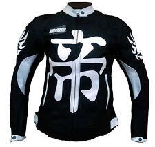 Biker moto chaqueta cazadora EN PIEL MUJERES cuero L XL XXL 40 42 44 46