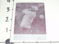 2012 LEAF METAL Golf ANNA RAWSON Magenta Printing Plate #1/1 LPGA USC Trojans
