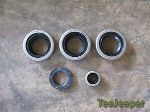 new Oil Seal Transmission Transfer Gear Complete Set Jeep M151 A1