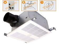 KAZE SE90TMH Humidity & Motion Sensing Quiet Bathroom Fan 90-CFM 0.3-Sones