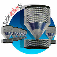 4 x ABSORBER Noicekiller Dynavox Spikes Chrom BOXENFÜßE Lautsprecher-Füße big