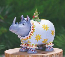 Patience Brewster MINI ROBERTA RHINO ornament KRINKLES NIB CUTE! NEW 2014