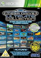 SEGA MEGA DRIVE ULTIMATE COLLECTION XBOX 360 juegos retro X360 Nuevo Precintado