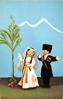 BR57171 dance of lezghinka dolls in georgian national costumes folklore  Georgia