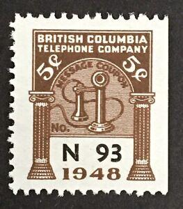 Lot57 British Columbia Telephone Frank BCT154