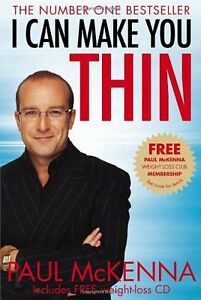 I Can Make You Thin,Paul McKenna- 9780553820584