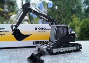 "Conrad Liebherr R 920 Compact Excavator ""Black Edition"" 1:50 NEW"