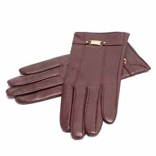 Authentic MCM Womens Leather Gloves Small Retail $300