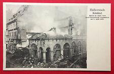 AK HALBERSTADT um 1903 abgebrannter Schuhhof   ( 13615