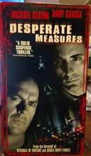 Desperate Measures (VHS, 1998, Closed Captioned) Michael Keaton, Andy Garcia