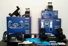 Saitek PRO Flight Simulator Yoke, Rudder Pedals, and 2 Throttle Quadrant AWESOME