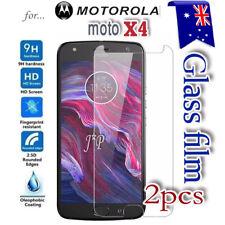 2X Motorola Moto X4 Tempered Glass LCD Screen Protector Film Guard