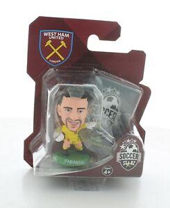 Lukasz Fabianski West Ham United SoccerStarZ MicroStars Green Base Blister