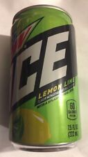6-new Mtn Dew Ice ❄️🍋lemon Lime 7.5 Oz Mountain 👀 Free Shipping USA