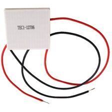 CELULA PELTIER TERMOELECTRICA TEC1 12706 60 W , 12 V. PELTIER COOLING PLATE