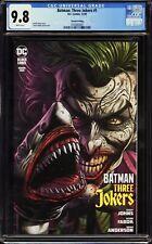 DC Comic Batman Three Jokers #1 CGC SS 9.8 Joker w/ Shark Hand Puppet High Grade