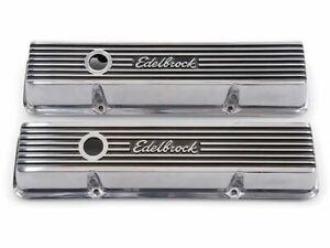 For Chevrolet Corvette Engine Valve Cover Set Edelbrock 15827GR