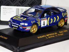 SUBARU IMPREZA WRC #4 RAC RALLY 1995 C. McRAE IXO RAC093 1/43