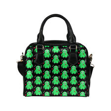Zombie Sloth Ladies Small Handbag, Shoulder Crossbody Bag, Punk, Alternative